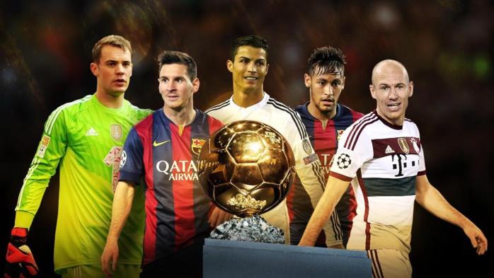 Et les finalistes du Ballon d'or sont…