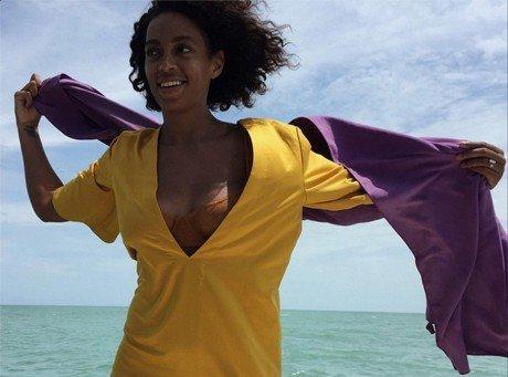 Solange Knowles et Alan Ferguson : une lune de miel exotique !
