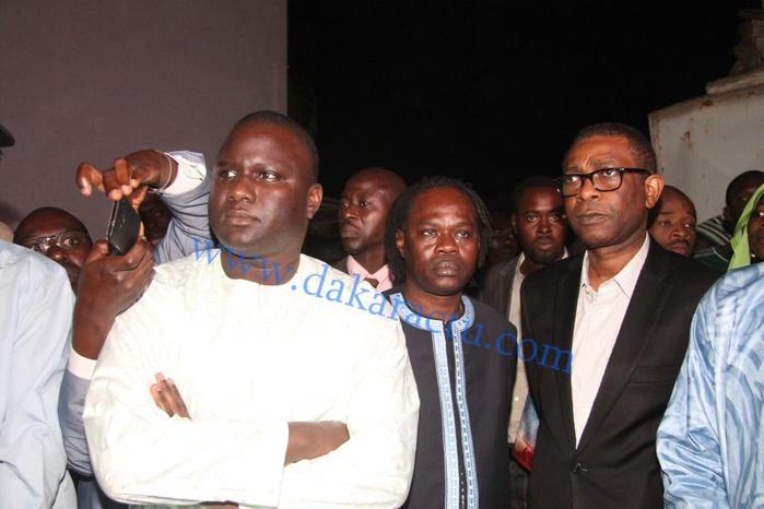 Les images de l'arrivée du corps de Demba Dia