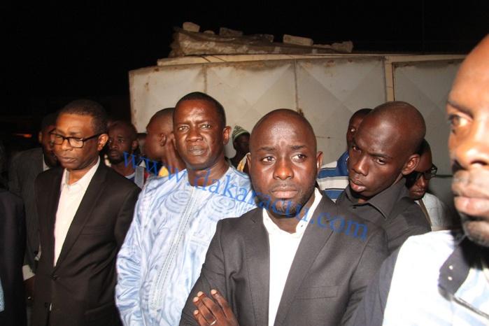 Les images de l'arrivée de la dépouille de Demba Dia