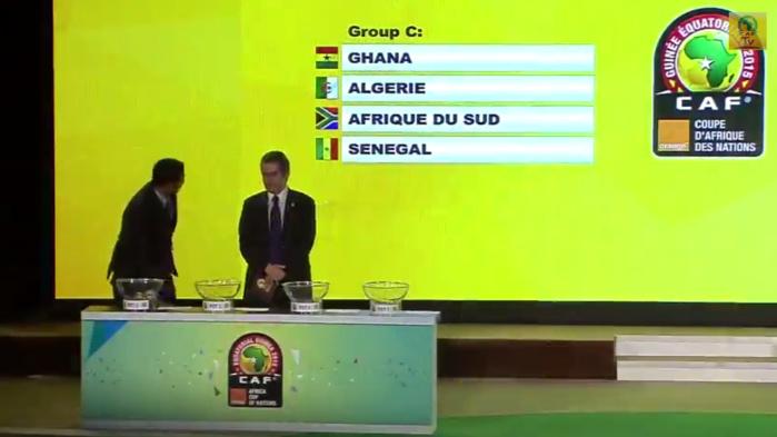 CAN 2015 : le Ghana, l'Afrique du Sud et l'Algérie dans la poule du Sénégal