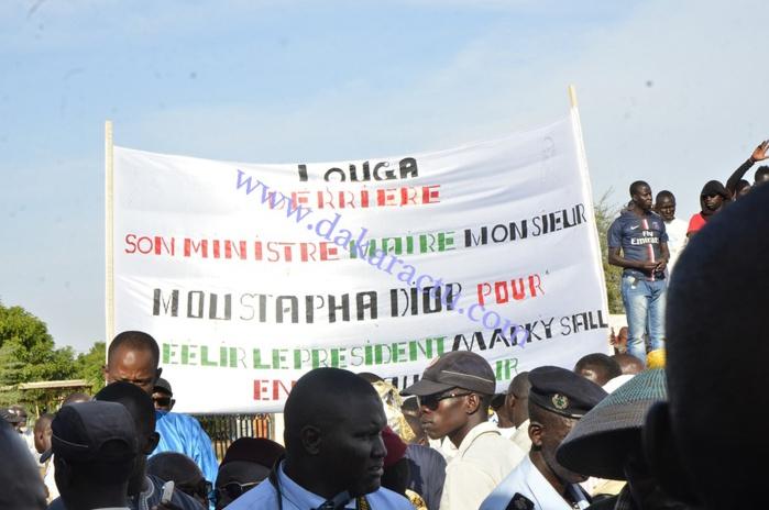 Louga en apothéose pour honorer son fils, le président Abdou Diouf