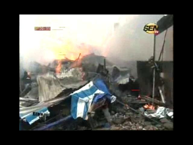 Incendie au marché de Rufisque : la mairie indexée