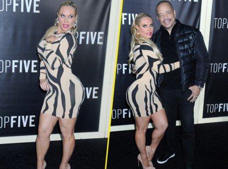 Coco Austin : tout en bombée aux côtés d'Ice-T !