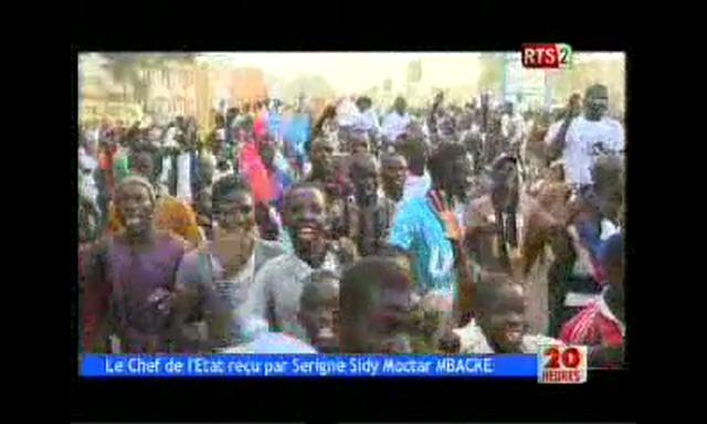 Visite de Macky Sall à Touba