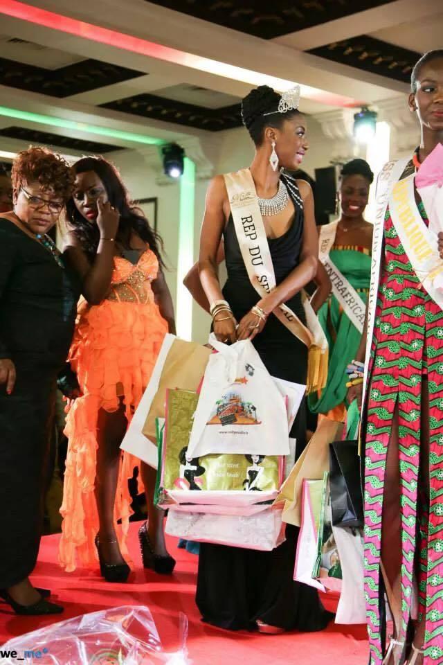 La sénégalaise Dieyna Valera remporte l'élection Miss Union Africaine