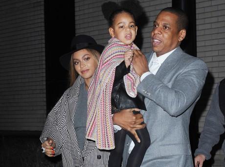 Beyoncé et Jay-Z : soirée ciné VIP avec leur adorable Blue Ivy !