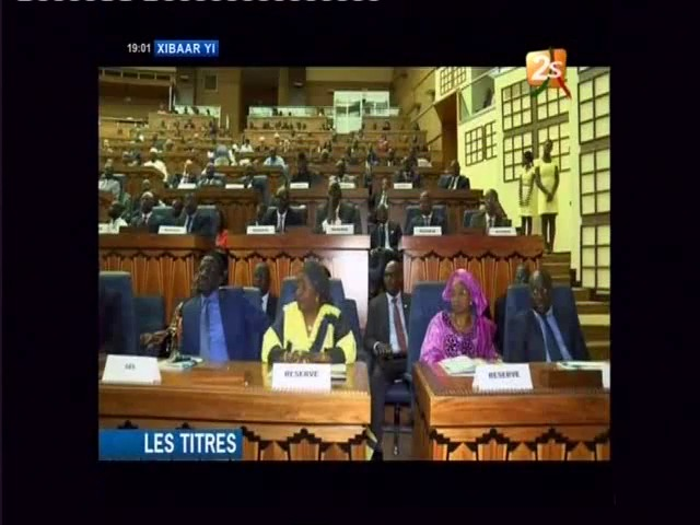 Journal Télévisé De La 2sTv De Ce lundi 08 décembre 2014 (Édition wolof)