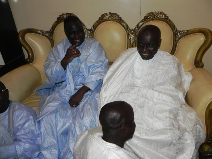 Les images de la visite d'Idrissa Seck à Touba