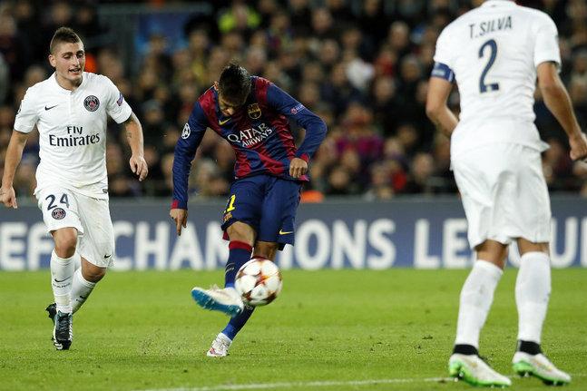 Paris victime du Barça