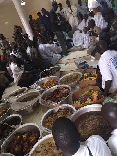 Sokhna Aïda Diallo offre un petit déjeuner royal à Cheikh Béthio Thioune (IMAGES)