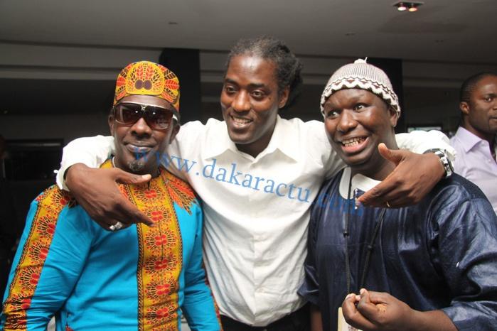 "Mame Goor ""Diazaka"", M'baye Dièye Faye et Salam Diallo"