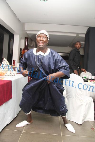 Salam Diallo en mode thiaya
