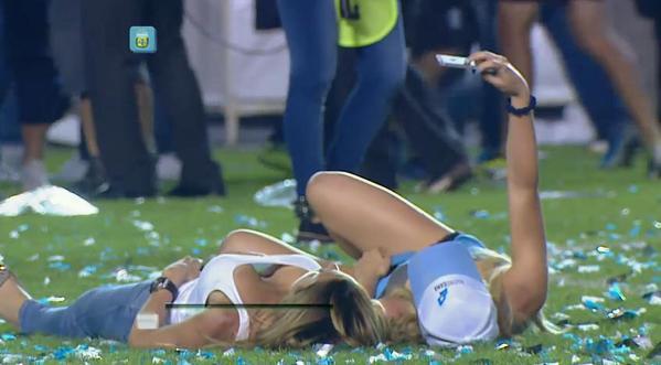 Le selfie sexy qui embrase l'Argentine