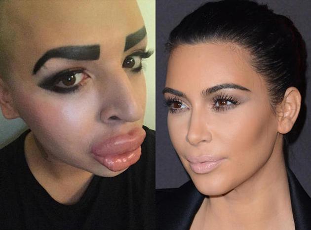 Un fan dépense 190 000 euros pour ressembler à Kim Kardashian : c'est raté