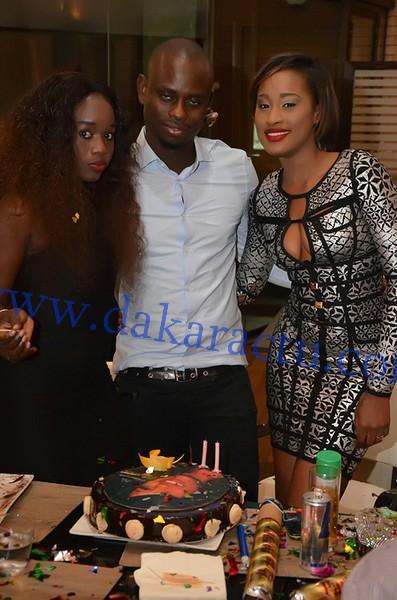 Les images de l'anniversaire de l'animatrice de la TFM, Esther Ndiaye