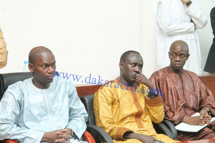 Les images de la conférence de presse du Garde des Sceaux, ministre de la Justice, Me Sidiki Kaba
