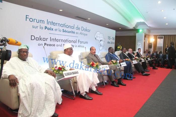 Forum sur la Paix et la Sécurité en Afrique : Les présidents africains mettent les occidentaux face à leurs responsabilités.
