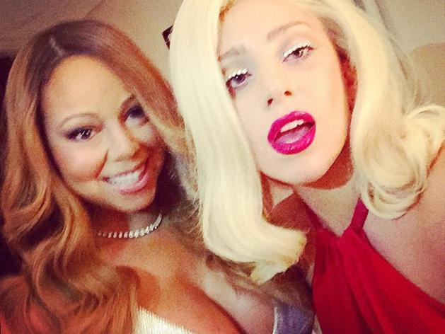 Lady GaGa et Mariah Carey : un double selfie très divaesque !
