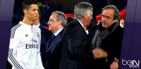 Gros malaise entre Cristiano Ronaldo et Platini