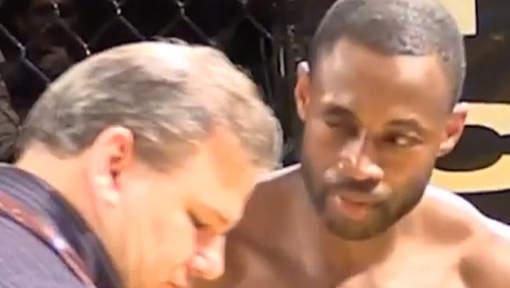 Un combattant MMA perd son oeil de verre