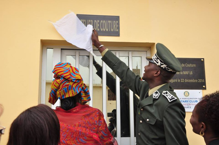 MAF de Liberté 6 : un atelier de Couture pour les détenues inauguré
