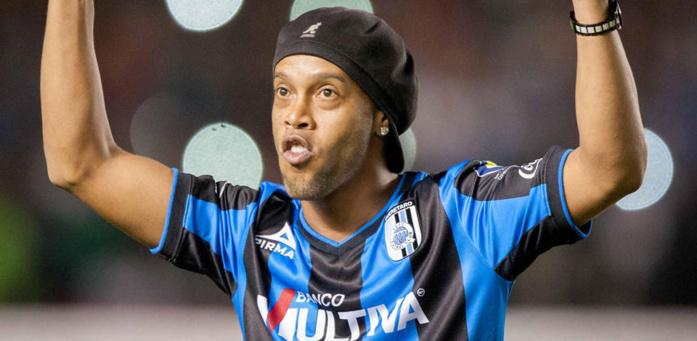 Ronaldinho a disparu
