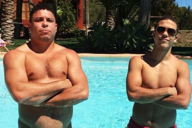 Le fils de Ronaldo au coeur d'un scandale