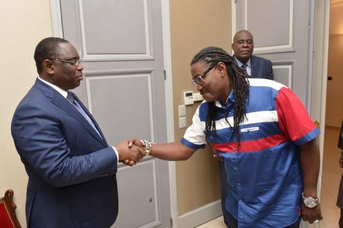 Le groupe Positive Black Soul reçu par le Président de la République Macky Sall