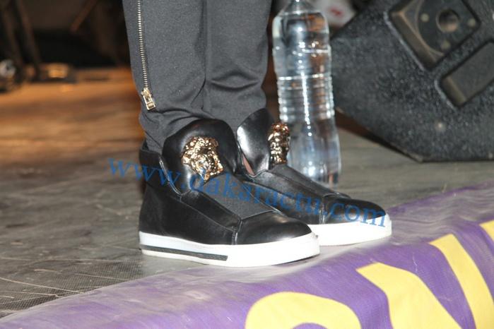 Les chaussures de marque Zanotti de Wally Ballago Seck