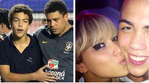 Le flirt de Ronaldo Jr, 14 ans, avec une institutrice (27), provoque un tollé au Brésil