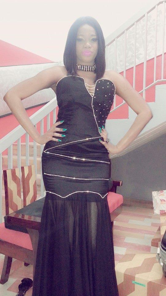 L'épicurienne Nabou Diagne très élégante dans sa robe noire