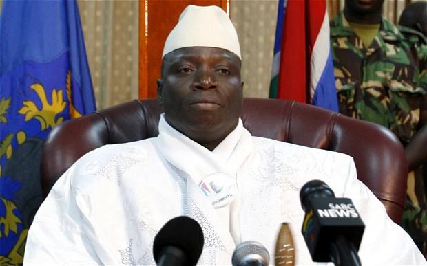 GAMBIE : Yayah Jammeh rentre en catimini à Banjul