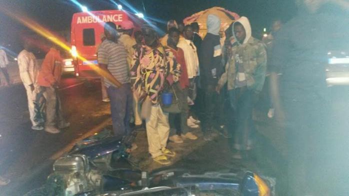 Accident de la circulation : notre confrère Laye Thioune de la Sentv grièvement blessé