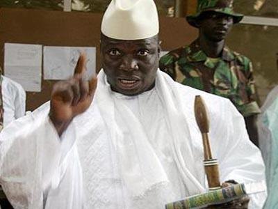 Gambie : les comploteurs ne réussiront jamais, assure Jammeh