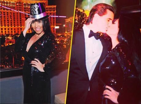 Kourtney Kardashain : radieuse et amoureuse auprès de Scott pour la nouvelle année !