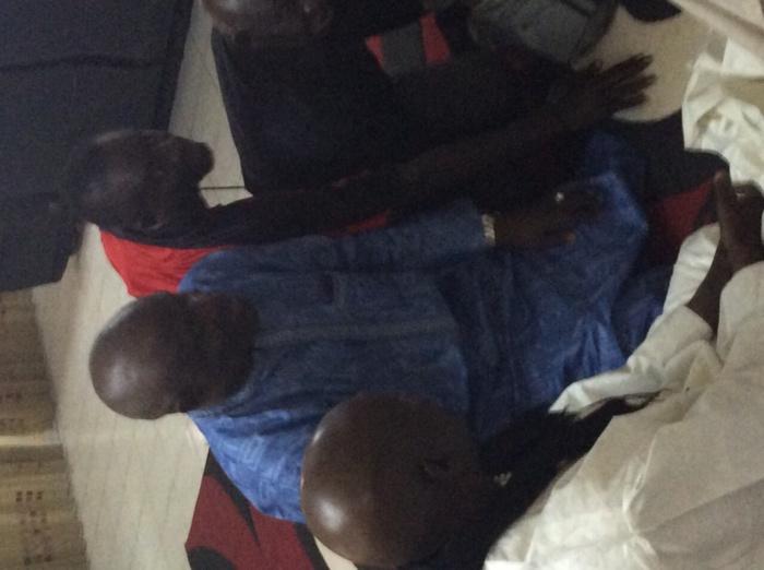 Gamou 2015 : Gaston Mbengue et sa délégation reçus par Cheikh Béthio Thioune chez lui à Mermoz