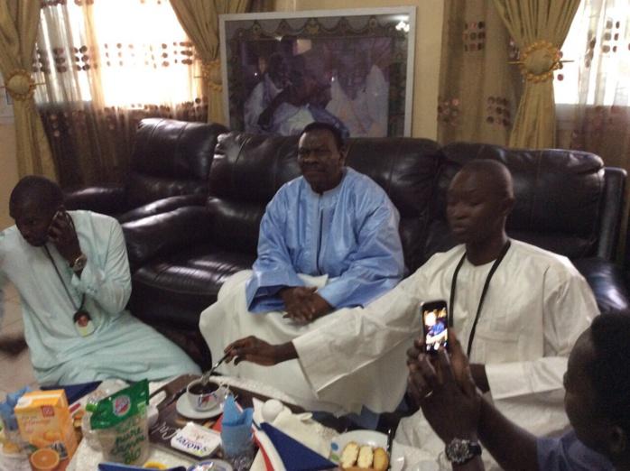 GAMOU 2015 : petit déjeuner royal offert par Cheikh Béthio Thioune à ses disciples