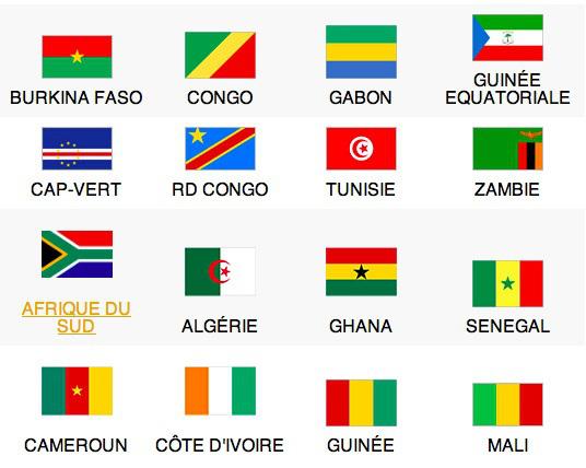 Sondage Can 2015 : l'Algérie en tête !