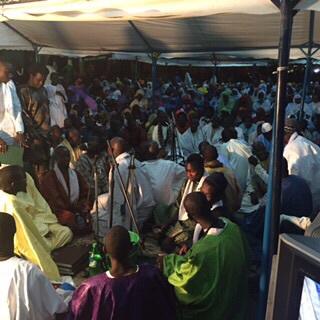Les images de la célébration du Gamou 2015 de Cheikh Abdoul Lahad Gaïndé Fatma chez Sokhna Maï Mbacké aux parcelles assainies