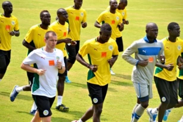 CAN 2015 : 18 Lions à la première séance d'entrainement