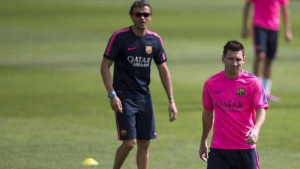 Messi-Luis Enrique, le clash !