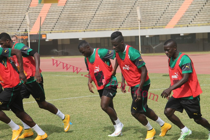 Can 2015 : les Lions ont bouclé leurs séances d'entrainement à Dakar! ( IMAGES )