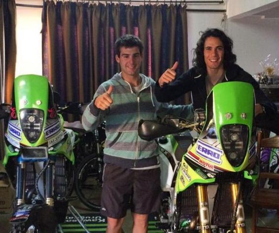 DAKAR 2015 : l'ami motard qui vaut des ennuis à Cavani
