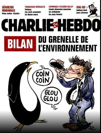 Les Unes les plus marquantes de Charlie Hebdo