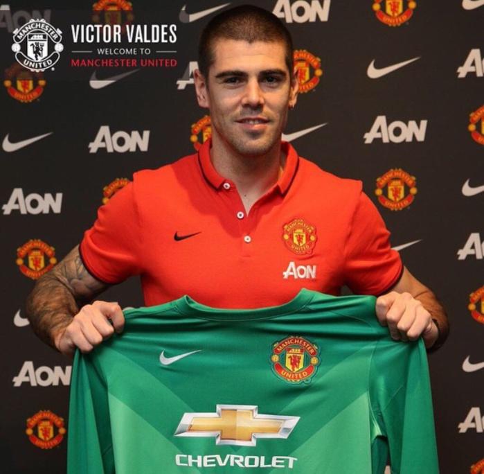 Victor Valdes a dit oui à Manchester United
