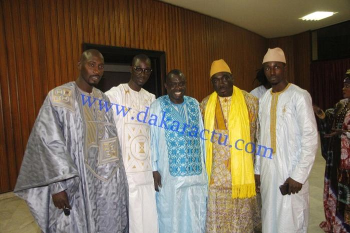 Les nouveaux ténors de la mode sénégalaise : Seck N'danane de Téranga couture en compagnie de Fallou Dakar mode et Pape Aw Référence