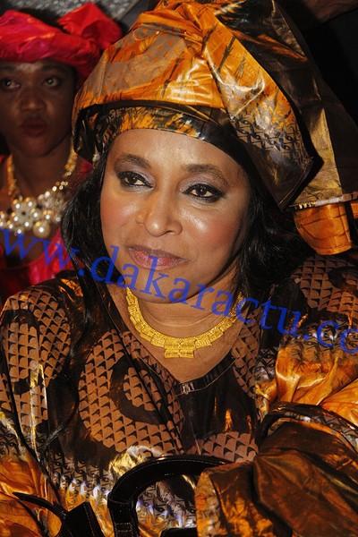 """Soirée """"Jakarlo"""":  Kiné Diouf, la mère de Waly Balago Seck"""