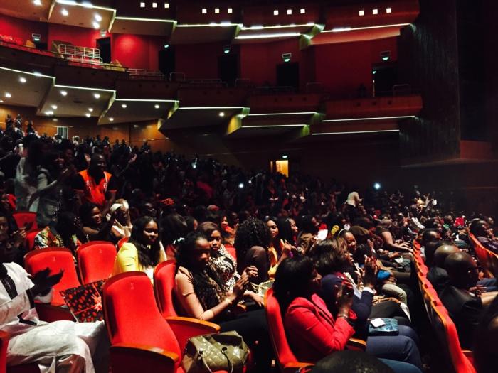 Les images de la soirée de Carlou D au Grand Théâtre National