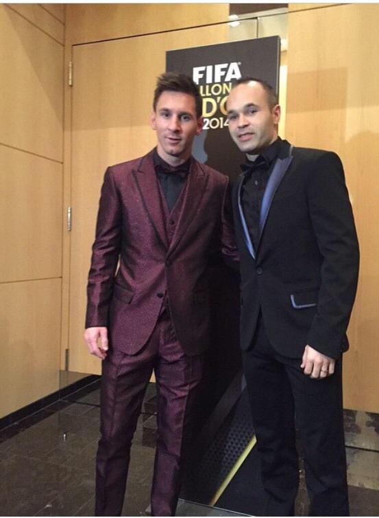 Lionel Messi déjà prêt pour la cérémonie du Ballon d'or